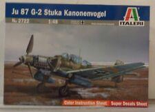 Italeri 1:48 Ju 87G-2 Stuka Kanonenvogel ITA2722