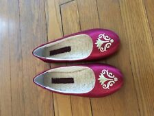 Jacques Levine Women's Slippers Belesprit-o Red Size 6