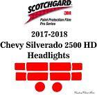 3M Scotchgard Paint Protection Film Pro Series 2017 2018 Chevy Silverado Duramax