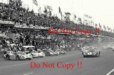 GURNEY & Foyt Shelby American FORD GT40 Vincitori Le Mans 1967 fotografia 5