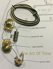 TAOT Wiring Kit - P-Bass® - CTS 250K Pots, .047 uf NOS K40Y-9 PIO Cap,