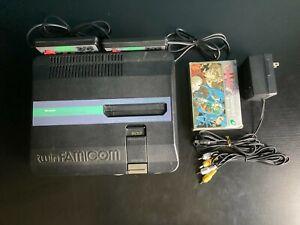 Sharp Twin Famicom + 1 Jeux - Nintendo - AN-505-BK - New Belt / Courroie