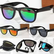 Nuevo Cuadrado Plegable Gafas de Sol Alta Calidad Plegable Unisex