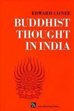 Buddhist Thought in India: Three Phases of Buddhist Philosophy (Ann Arbor