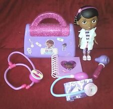 Disney Doc McStuffins Doctor Medical Kit Talking Stethescope 4pcs & 9in Doll