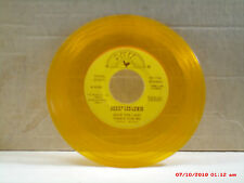 JERRY LEE LEWIS-(45)-GOLD VINYL-SAVE THE LAST DANCE FOR ME/AM I TO BE THE 1-1978