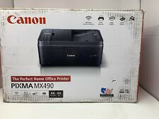 New Canon Pixma MX490 All-In-One Color Printer Ink Included SHIPS FAST!