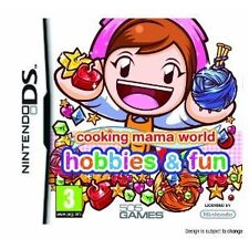Nintendo DS DSi Lite jeu Cooking Mama world: hobbies, Fun-BRICOLAGE & rendre
