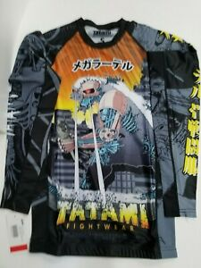 Tatami Cyber Honey Badger Grappling MMA BJJ Jiu Jitsu Long Sleeve LS Rashguard