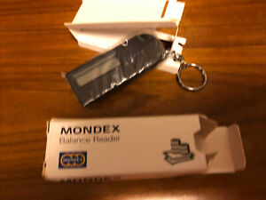 Vintage 1990s Mondex Electronic Cash Balance Reader Boxed