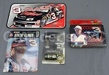 Dale Earnhardt Car Collection Vanity Plate Window Decal Keychain & Playing Cards