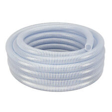 3 X 25 Flexible Pvc Water Suction Amp Discharge Hose Clear Withwhite Helix