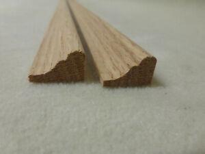 (a68) Profilleiste Eiche 12x20mm Holzleisten Zierleiste Stk 100cm