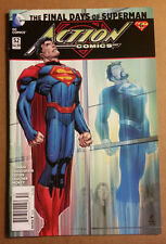 "Action Comics #52 new 52 ""Death"" of Superman News Stand Variant VF/NM $4.99"