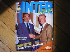INTER FOOTBALL CLUB 8 1990 ROSSINI CIOCCI SERENA TRAPATTONI RUMENIGGE SCIFO
