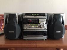 Philips Mini-Hifi-Anlage Stereoanlage FW530C/22 + Fernbedienung 2x100W Box 6 Ohm