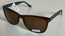 NEW! TOMMY HILFIGER CONRAD MEN'S BROWN CLASSIC FRAME SUNGLASSES SHADES SALE