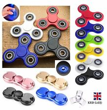 Hand Spinner Finger Toys Fidget EDC Stress Relief ADHD Cube Kids Fiddle Toy UK