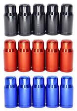 Presta Valve Caps - Aluminum - 25 count - French Valve Caps