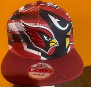 New Era Arizona Cardinals 9FIFTY Snapback Hat One Size Fits All