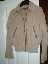 """Girl's Coca Cola Small Size Cord Jacket - Approx 34"""" Chest - Nice Looking Jacket"""