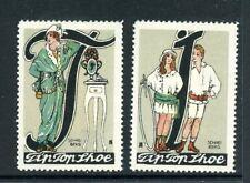 Germany Reklamemarken Cinderella Poster stamp Tip Top Shoe Women Fashion