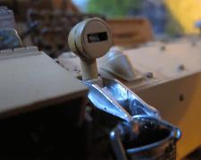 WWII Panzer III 3 IV Tarn Licht Lamp Cover Metall Zubehör Heng Long RC Tank 1/16