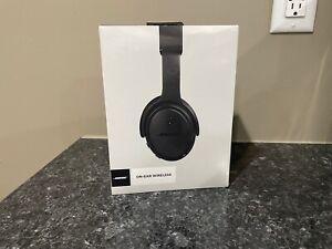 NEW Sealed Bose On Ear Wireless Bluetooth Headphones SoundLink 714675-0030 Black