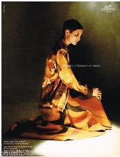 PUBLICITE ADVERTISING 095  1997  HERMES  chemise couverture L'AFRIQUE AU COEUR