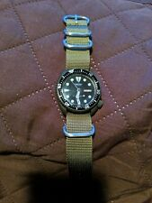 Vintage Seiko Diver Automatic watch 6309 - Army green