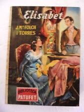 Biblioteca Patufet,Elisabet,Jª Maria Folch i Torres y Junceda,Baguña 1953