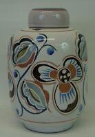 Keramik Deckeldose Deckelvase Schweden? Midcentury Art Vintage 50er 60er