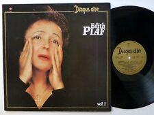 EDITH PIAF Disque D'or Vol.1 LP France press Chanson Near-MINT  #1072
