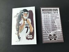 2018 MISSISSIPPI STATE BULLDOGS FOOTBALL POCKET SCHEDULE *Lot Of 2* MOORHEAD