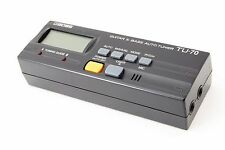 BOSS TU-70 Guitar & Bass AutoTuner w/Tracking Number From Japan *156606