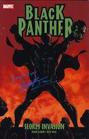 Chadwick Boseman Signed Autograph Secret Invasion Black Panther Comic Book wCOA