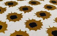 Superb A4 Sheet of 35 'Bullet Hole' Stickers Decals Snowboard/Bike/Car/Van/4x4