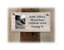 PERSONALISED PLAQUE, SIGN. PHOTO & QUOTE. DOG LOVE. Gift for dog lover