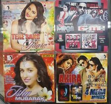 Bollywood Songs CDs, Set of 4 CDs, Free Shipping