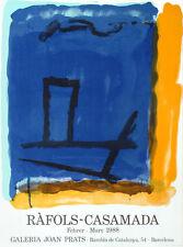 Alberto Ràfols Casamada -  Galeria Joan Prats 1988