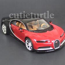 Maisto Bugatti Chiron 1:24 Diecast Model Toy Car 31514 Red / Black