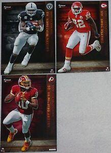 2012 NFL FATHEAD TRADEABLES Lot 3 Robert Griffin III Rookie D. Bowe D. McFadden