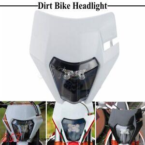 Enduro E11 LED Headlight Dirt Bike Headlamp For XC ECX XCW SXF XCFW 250 350 450
