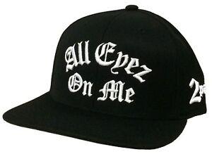 Tupac Shakur All Eyez On Me 2Pac Black Baseball Hat Cap New Official Starter