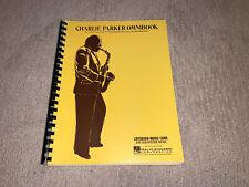 Charlie Parker Omnibook for E-flat Instruments 60 Jazz Solos Exact Transcription