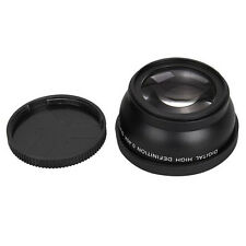 0.45x 58mm Wide Angle + Macro Conversion Lens  62mm Front Thread Black