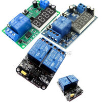 12V/5V 2 Channel LED Automation Delay Timer Switch Relay Module For Arduino