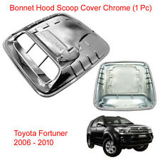 Bonnet Hood Scoop Turbo Cover Chrome Trim to Toyota Hilux Fortuner 2005 - 2010