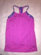 Girls Ivivva Lululemon Razorback Tank Top Size 10 Purple