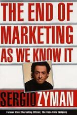 Sergio Zyman - End Of Marketing As We Know It HC Very Good Free Shipping